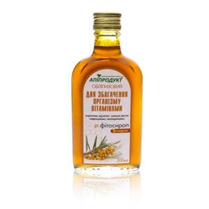 Фитосироп «Облепиховый» для иммунитета Апипродукт