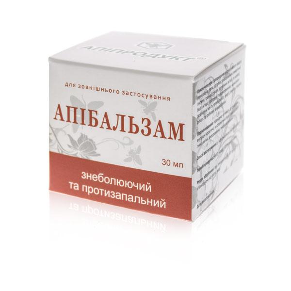 Апибальзам обезболивающий и противовоспалительный Апипродукт