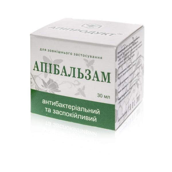 Апибальзам антибактериальный и успокаивающий Апипродукт