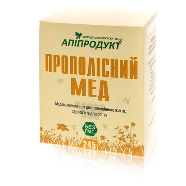Прополісний мед Апіпродукт