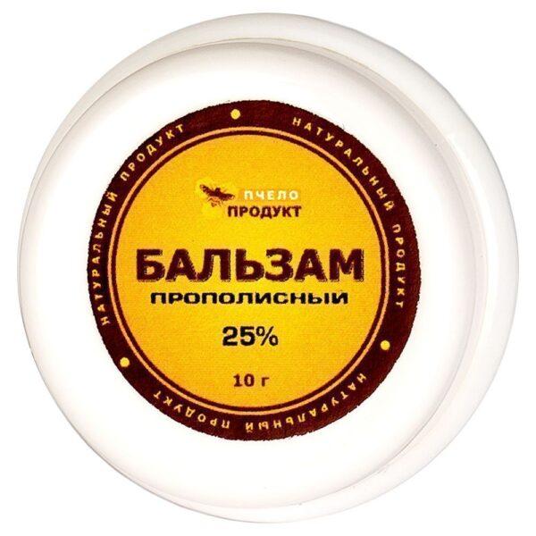 Мазь-бальзам прополис плюс 25% Пчелопродукт