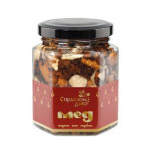 Мед перга и орехи, 220 г